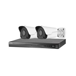 NVR-4 PoE + 2 kameras