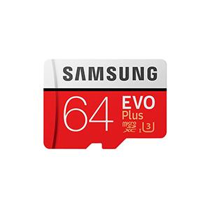 Atmiņas karte Micro SDXC EVO+, Samsung 64GB